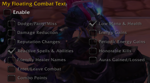 Floating Combat Text
