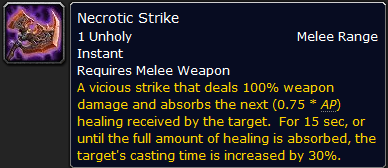 Necrotic Strike